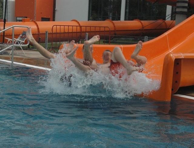 Na głogowskim basenie jest monitoring. Władze pływalni zapewniają, że zapewnia on pełne bezpieczeństwo korzystającym z atrakcji basenu