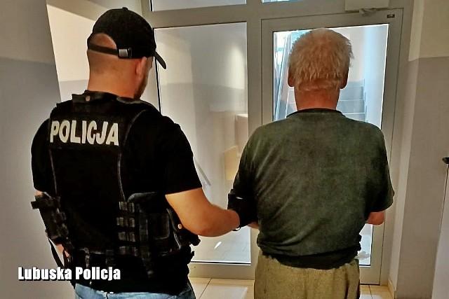 69-letni mężczyzna, który był łączony z tą sprawą, został namierzony na polu niedaleko miejsca zamieszkania.