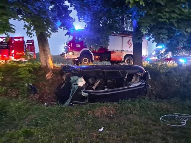 W wypadku ranne zostały trzy osoby.