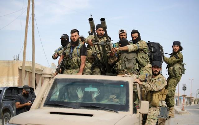 Tureccy najemnicy w Syrii