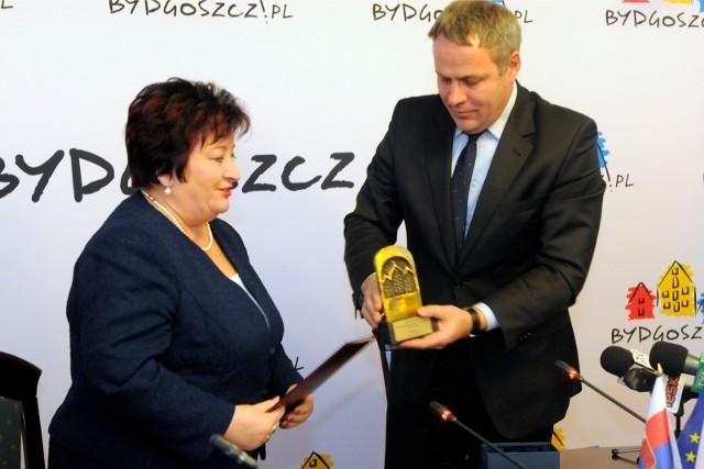Grażyna Ciemniak była zastępcą Rafała Bruskiego od 2011 roku, odeszła pod koniec 2014 roku