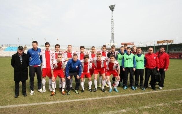 Drużyna juniorów starszych Akademii Piłkarskiej ŁKS. Jej trenerem jest Jan Lirka.