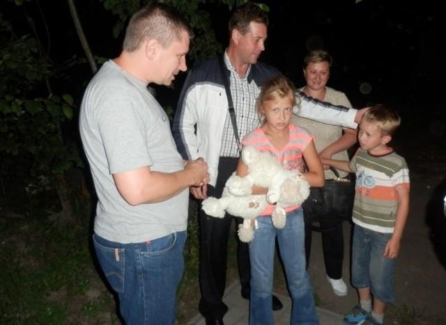 Olga i Władysław Olszewscy wraz z dziećmi Anastazją i Denisem przyjechali do Polanowic z Kazachstanu.