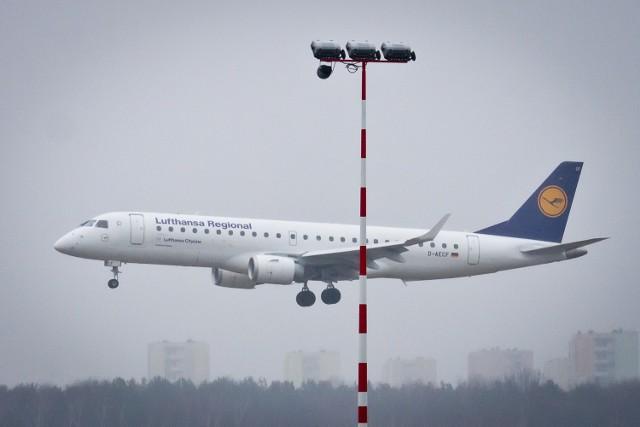 Lufthansa lata z Lublina do Frankfurtu.