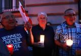 Protest w obronie niezawisłości sądów w Nowym Sączu. Dlaczego protestuje Józef Hojnor?