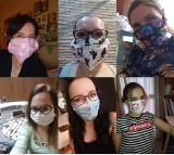 Chrzanów. Szyją maski dla lekarzy i pielęgniarek, bo zaczęło ich brakować w szpitalu [ZDJĘCIA]