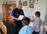 11-latek i 9-latek pomogli zatrzymać złodzieja. Otrzymali nagrody