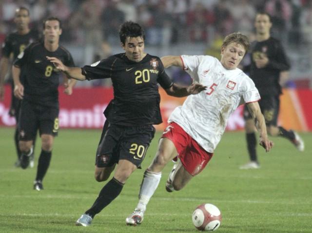 W eliminacjach Mistrzostw Europy 2008 Polacy pokonali w Chorzowie Portugalię 2:1 po dwóch golach Euzebiusza Smolarka