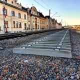 Kraków. Postęp prac na budowie estakad kolejowych w centrum. Powstają kolejne tory [ZDJĘCIA]