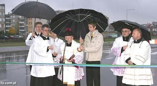 Otwarcie obwodnicy to było w Ostrołęce prawdziwe święto