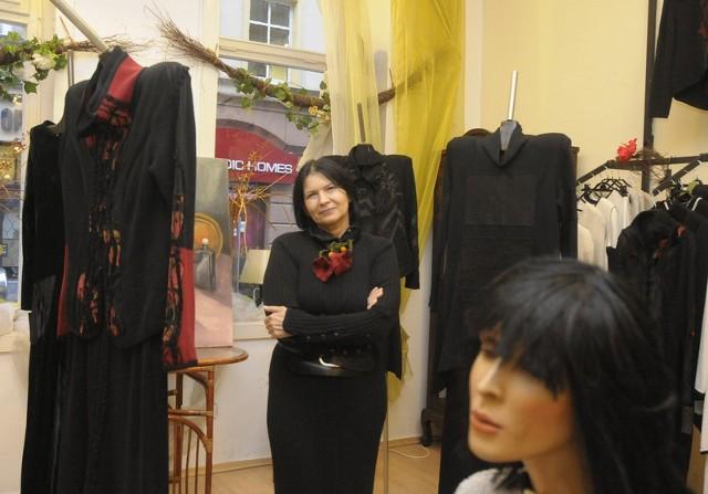 Teresa Wojnicka dobrze ocenia styl ubierania się bydgoszczanek