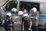 Pseudokibice zatrzymani przez policję po meczu Polonia Bytom - Ruch Chorzów staną przed sądem