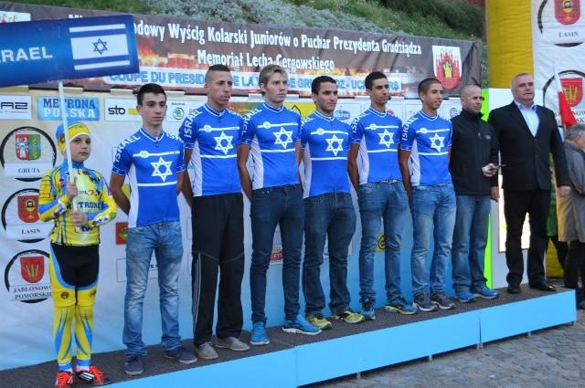 Dużym wyczynem było zajęcie 2. miejsca w 2. etapie w Chełmży przez kolarza z Izraela, Itamara Einhorna. Drużyna ta z roku na rok czyni postępy i już zaczyna się liczyć wśród najlepszych w grudziądzkim wyścigu.