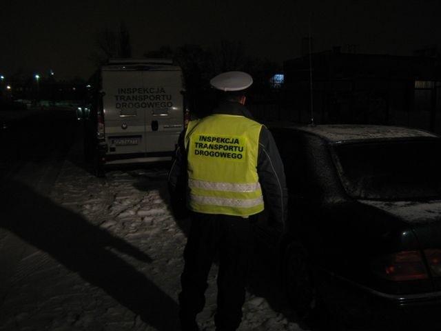 Zdjęcie z piątkowej akcji w ITD Słupsku