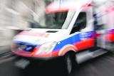 Wypadek w Buku: Trzy osoby w szpitalu, zablokowana droga