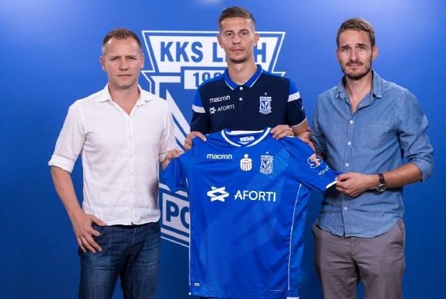 Lubomir Satka jest piątym transferem Lecha Poznań w letnim okienku transferowym.