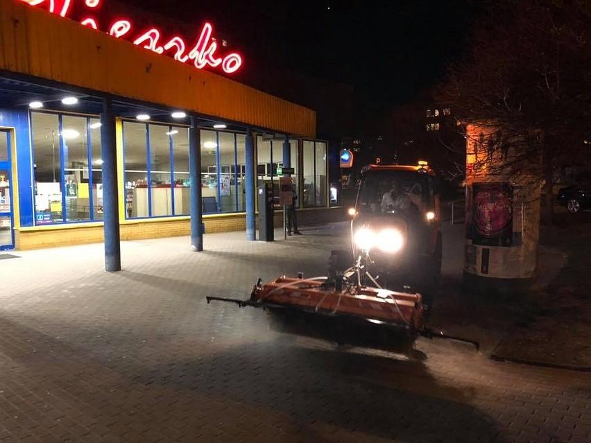 Białystok zlecił dezynfekcję 15 najbardziej uczęszczanych...