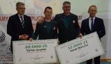 Zielona Góra nagrodziła bohaterów igrzysk paraolimpijskich. Prezydent wręczył czeki