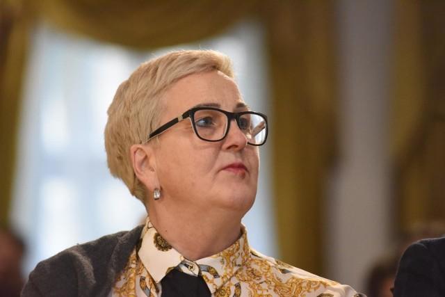 Wioleta Haręźlak, przewodnicząca sejmiku