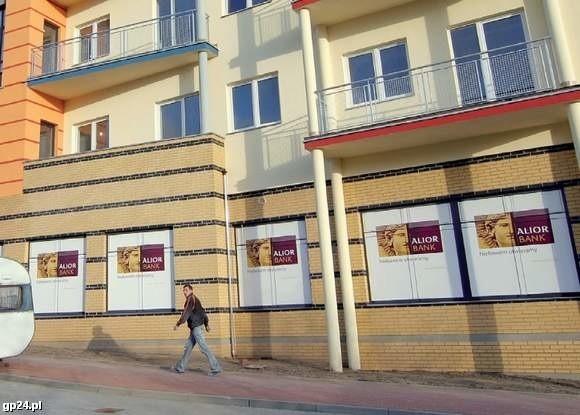Pierwszy oddział Alior Banku przy ul. Sobieskiego w Słupsku.