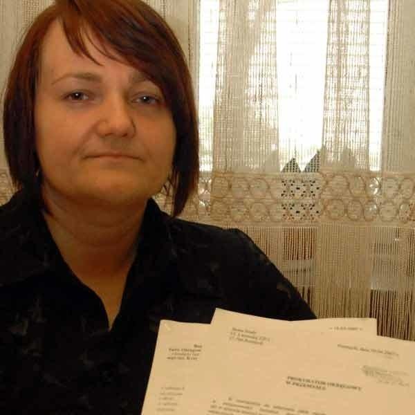 Beata Szady: O znalezieniu dokumentów w sprawie śmierci mojego męża natychmiast zawiadomiłam prokuraturę.