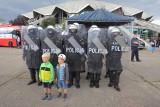 Festyn Charytatywny Niebiescy Dzieciom: Mundurowi chronią potrzebujących [ZDJĘCIA]