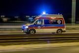 Wypadek w Rybnej. 17-latek porażony prądem. Wszedł na słup energetyczny