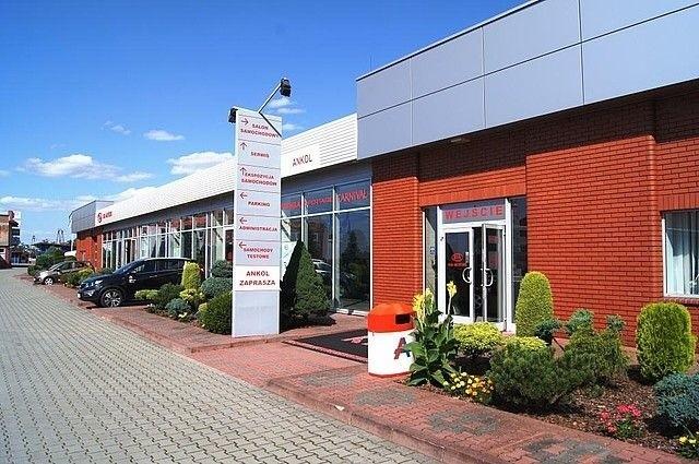 Firma ANKOL prowadzi też centrum motoryzacyjne w zakresie sprzedaży, usług gwarancyjnych i pogwarancyjnych samochodów KIA