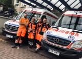 Ratownictwo pod szpitalem Zachodniego Centrum Medycznego w Krośnie Odrzańskim działa już okrągły rok. Początki nie były łatwe