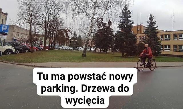 Jest pomysł na przeznaczenie części parku na dobrzyńskim rynku na parking