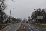 Poznań: Kolejne zmiany przy terenie budowy trasy tramwajowej na Naramowicach. Lechicka będzie przejezdna tylko jedną nitką