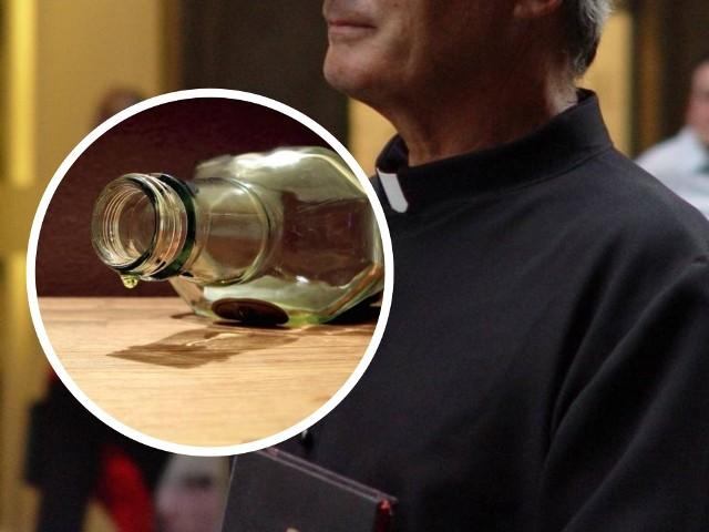 Ksiądz z Grudziądza, który odprawiał uroczystość pogrzebową miał ponad 2 promile alkoholu