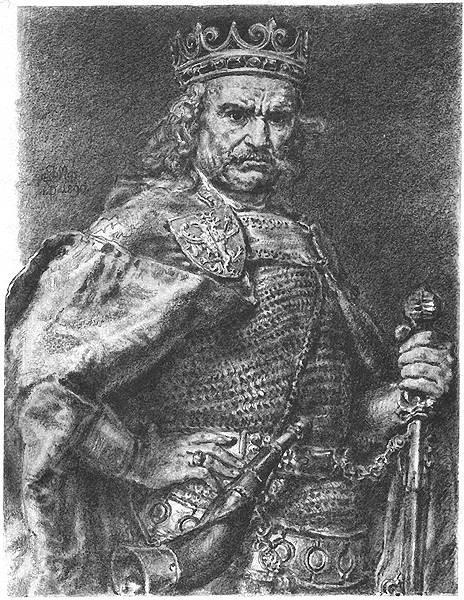 Władysław Łokietek (w wersji Jana Matejki)