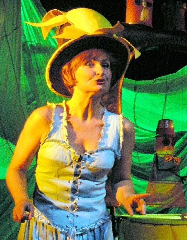 Spektakl będzie aktorskim popisem Izabeli  Gordon - Sieńko.