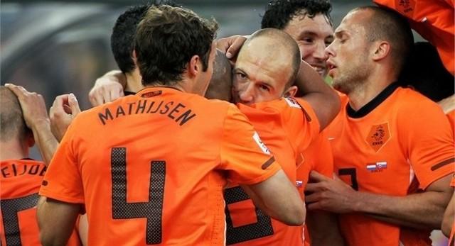 Holandia pokonała Słowację