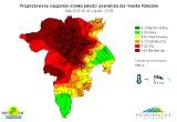Jakość powietrza w Rzeszowie. Mapa znów czerwona