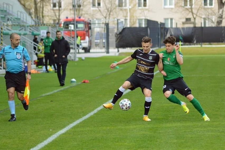 W ostatnim meczu Stali i Wisłoki padł rezultat remisowy