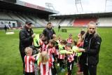 Pasiasty Dzień Dziecka - najmłodsi kibice Cracovii bawili się na stadionie przy ul. Kałuży [ZDJĘCIA]