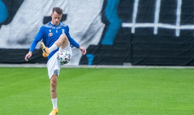 Jan Sykora strzelił dwa gole dla rezerw Lecha Poznań w meczu z Hutnikiem Kraków.