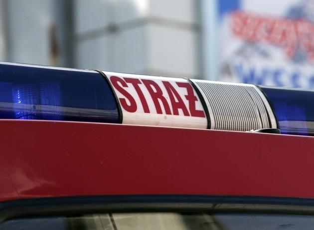 Pożar w Chorzowie: Paliło się na poddaszu kamienicy