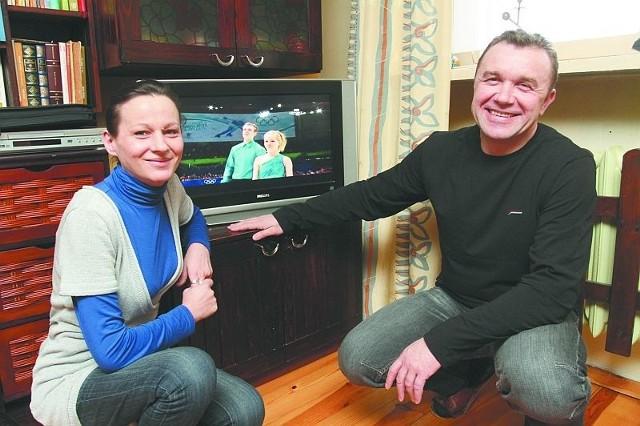 Ewa i Jacek Maliszewscy, rodzice Patrycji, odliczają godziny do drugiego olimpijskiego występu córki w Vancouver.