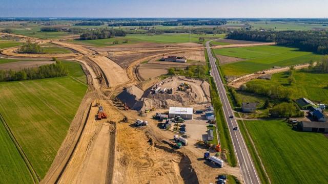 Budowa drogi S61
