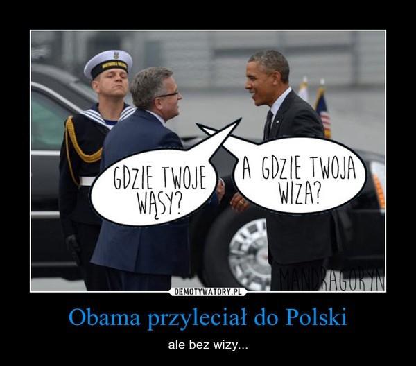 Barack Obama w Polsce: Internauci żartują z wizyty prezydenta USA [DEMOTYWATORY]