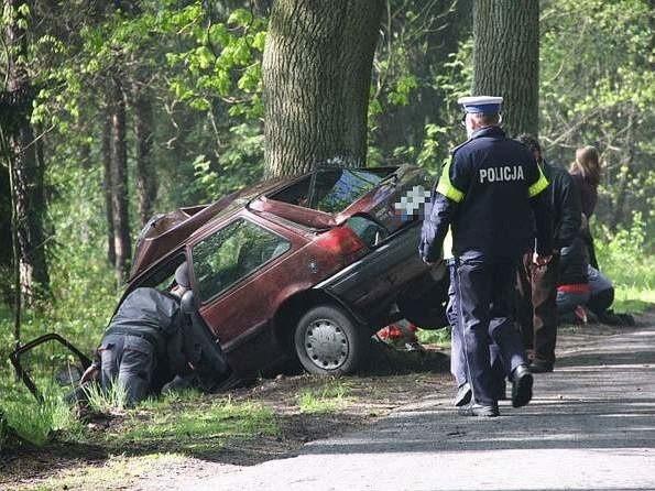 Maturzysta zginął w drodze na egzamin.