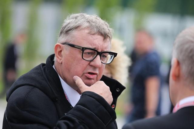 Janusz Filipiak prezes Cracovii dokonał uroczystego otwarcia Cracovia Training Center w Rącznej