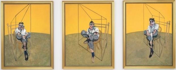 """Na listopadowej aukcji w Nowym Jorku obraz Francisa Bacona """"Trzy studia do obrazu Luciana Freuda"""" został sprzedany za ponad 140 mln dolarów. Jest to rekord świata"""