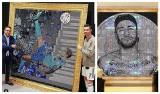 CR7, Messi, Neymar i inne gwiazdy na obrazach z setek tysięcy kryształów Swarovskiego. Piłkarze uwielbiają Mr Blinga! [ZDJĘCIA]