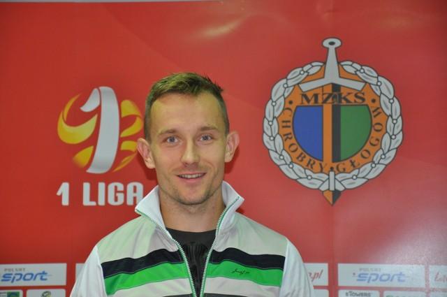 Przez najbliższy rok Paweł Wojciechowski będzie stanowił o sile ataku Chrobrego