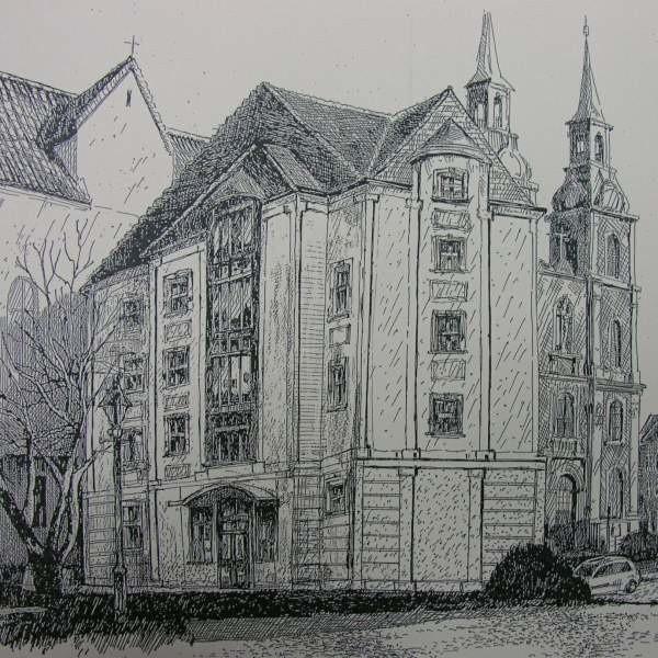 To jak będzie wyglądał hotel można zobaczyć na razie tylko na szkicach.