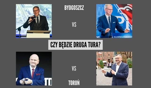 Czy w Bydgoszczy i Toruniu szykuje się druga tura wyborów samorządowych 2018? Zobaczcie wyniki naszego sondażu.